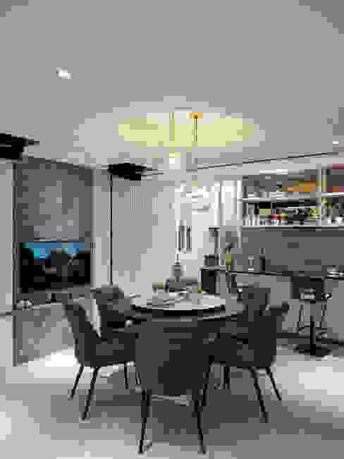 餐廳 根據 你你空間設計 現代風