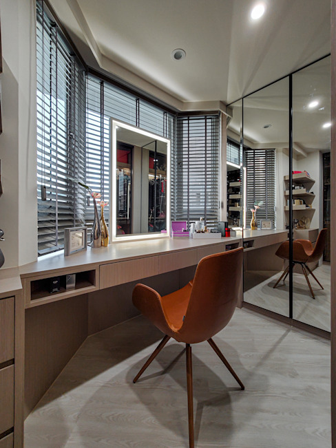 更衣室 根據 你你空間設計 現代風