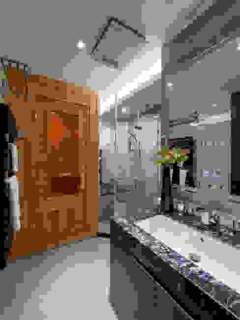 浴室 現代浴室設計點子、靈感&圖片 根據 你你空間設計 現代風