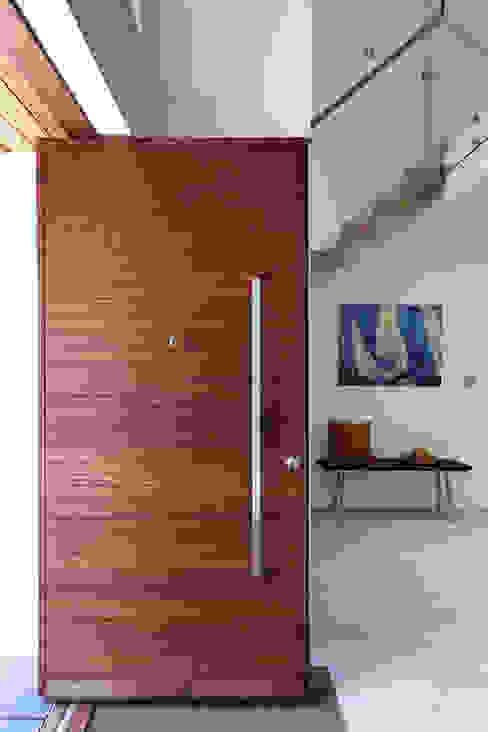Contemporary Pivot Doors Urban Front Front doors Wood