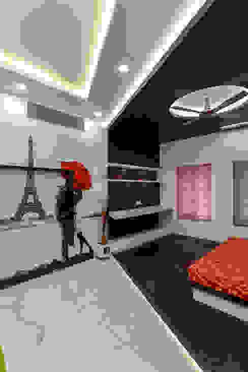 Residential Interior at Sankeshwar, Karnataka Modern style bedroom by A B Design Studio Modern