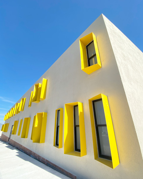 fachada principal MAKA Arquitectura Viva Casas modernas
