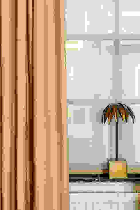 Provincial Gold stof Fuente Pure & Original: modern  door Pure & Original, Modern Textiel Amber / Goud