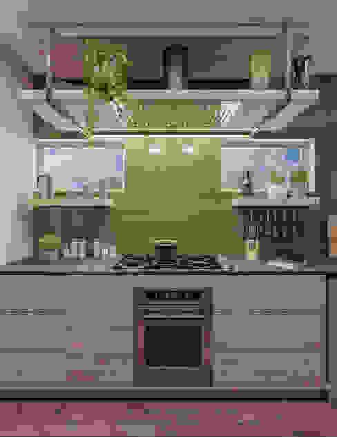 Project Siavonga, Zambia. Deborah Garth Interior Design International (Pty)Ltd Modern kitchen