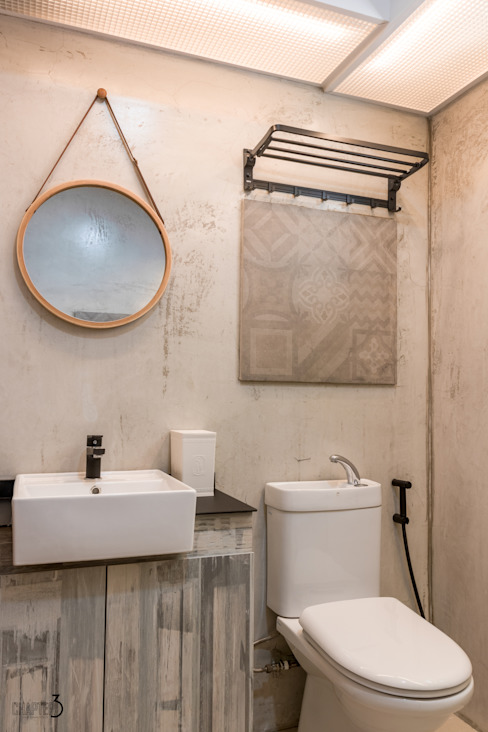 Master Bathroom Eclectic style bathroom by Chapter 3 Interior Design Eclectic