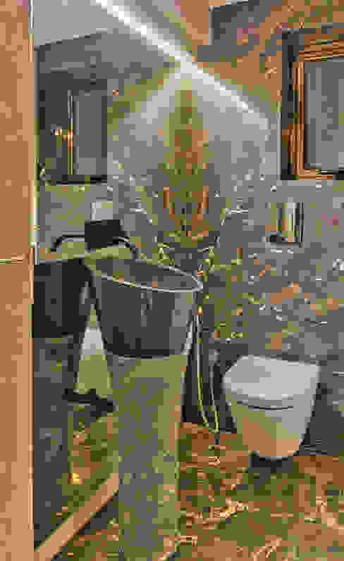 Powder Room Inscape Designers Modern bathroom