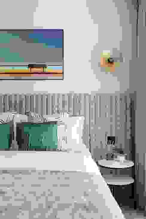 Redbrick Apartment Shanade McAllister-Fisher Interior Design Modern style bedroom