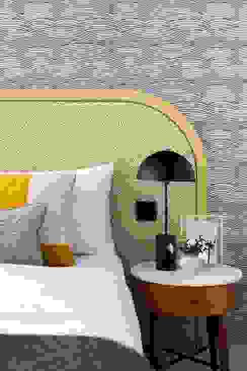 Redbrick Apartment Shanade McAllister-Fisher Interior Design Moderne Schlafzimmer