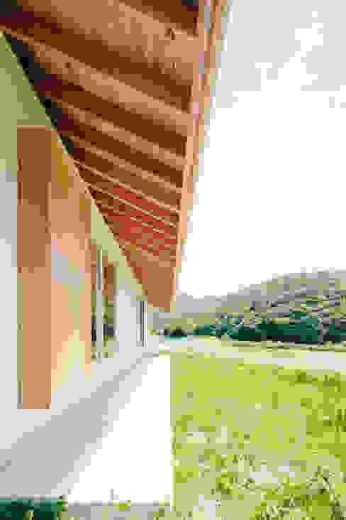 はらぱ2(住宅)軒下 おかやま設計室 木造住宅 金属