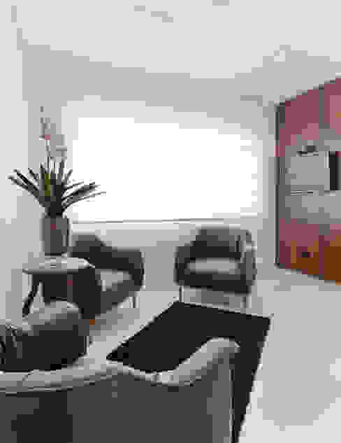 Clinica de Dermatologia TES Clínicas modernas por D arquitetura Moderno