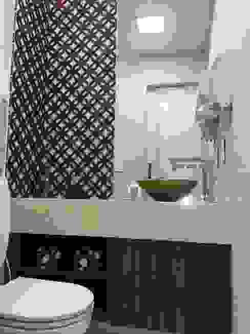 Banheiro privado Clínicas modernas por Marcelle de Castro - arquitetura|interiores Moderno