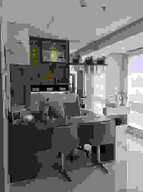 Consultório 01 Clínicas modernas por Marcelle de Castro - arquitetura|interiores Moderno