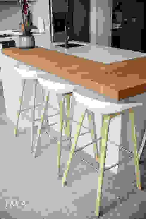 Fresnaye Townhouse Living in Fresnaye Avenues - Kitchen Jenny Mills Architects Modern kitchen