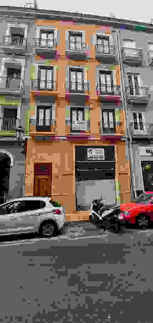 Restauración fachada de CreaCivil Moderno