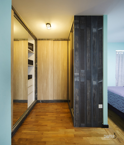 """Project 4Room BTO Dawson """"Urban Industrial"""" by Chapter 3 Interior Design Industrial"""