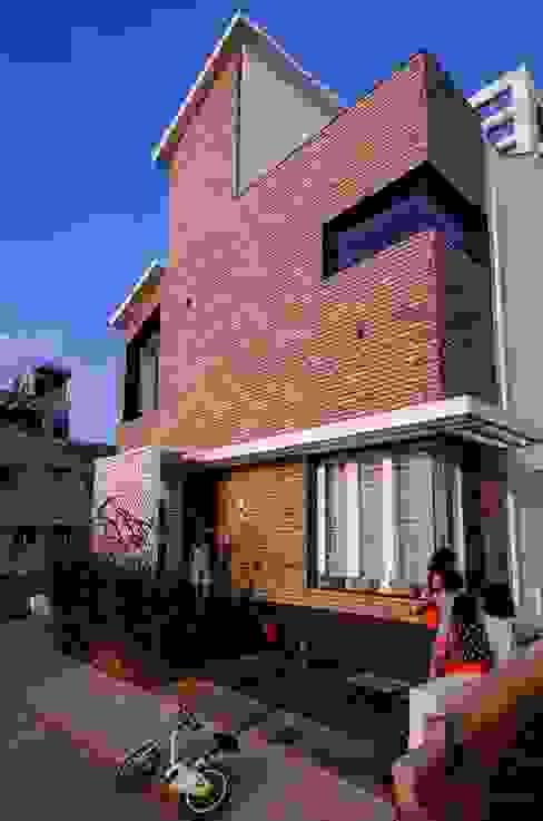Facade by Ideation Design Modern Bricks