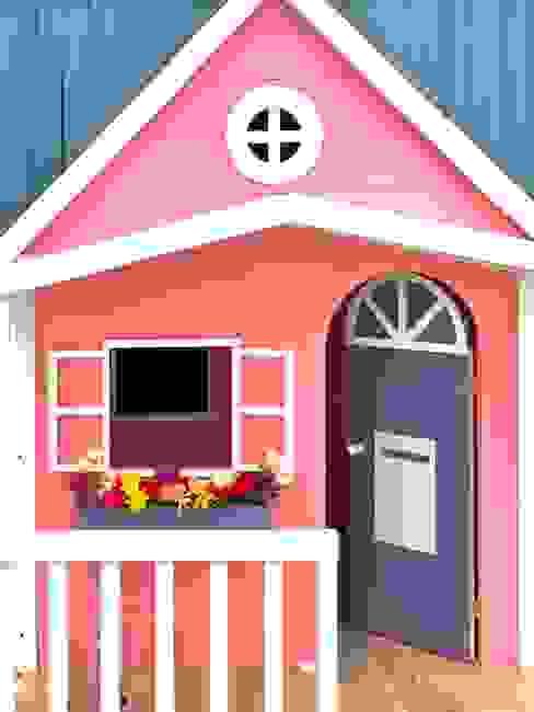 Casita rose de House Muebles Infantiles Moderno Madera Acabado en madera