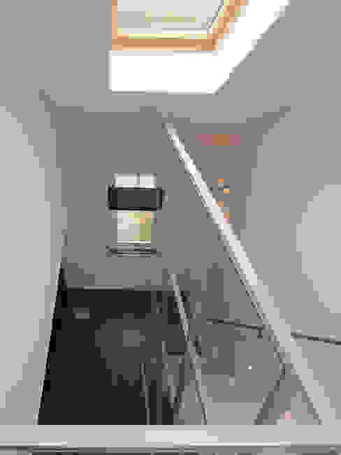 trapopgang van Studio FLORIS Modern Aluminium / Zink