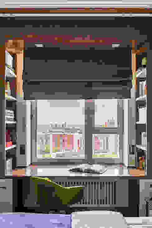 Дизайн квартиры 43 метра для девушки Спальня в стиле модерн от Дизайнер Алина Лютая Модерн