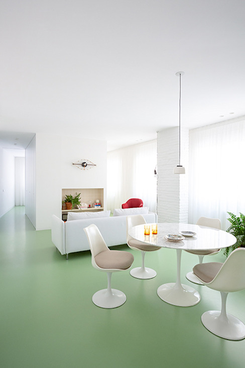 Apartamento Picasso Nada Comedores de estilo minimalista Verde