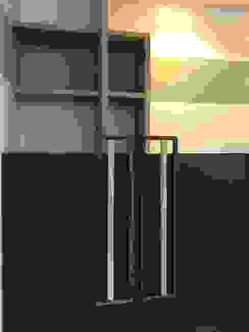 planken en wanddecoratie: modern  door MEF Architect, Modern Hout Hout