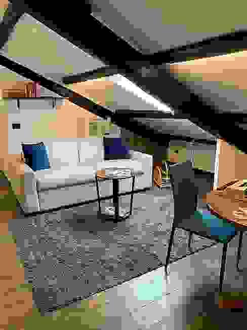 Dr-Z Architects Modern living room