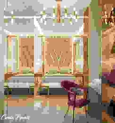 Closet Integrado ao quarto Closets por Camila Pimenta | Arquitetura + Interiores Moderno Madeira Efeito de madeira