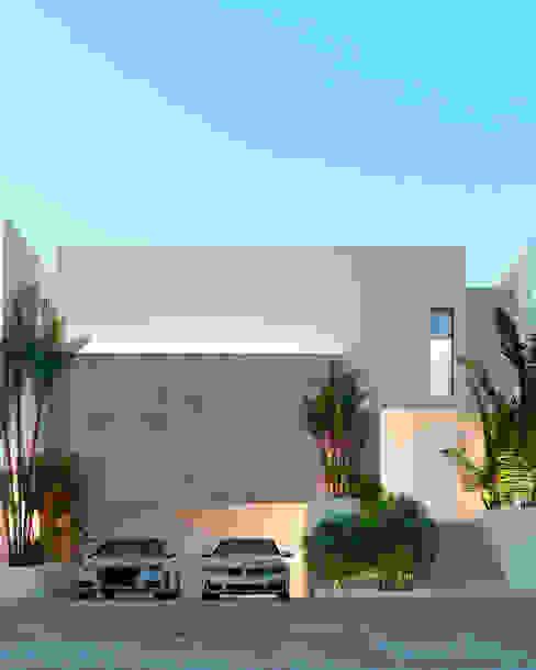 Arch Otb Studio Minimalist house Concrete White