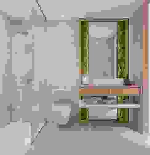 instalação sanitária de Serviço Casas de banho modernas por Alpha Details Moderno