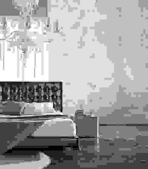 SAN MARCO MESTRE Small bedroom Concrete Grey