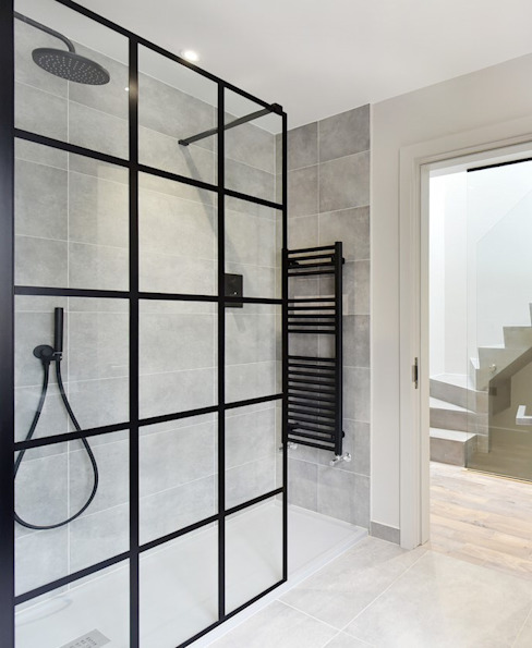 Shower Room MAGRITS Industrial style bathroom
