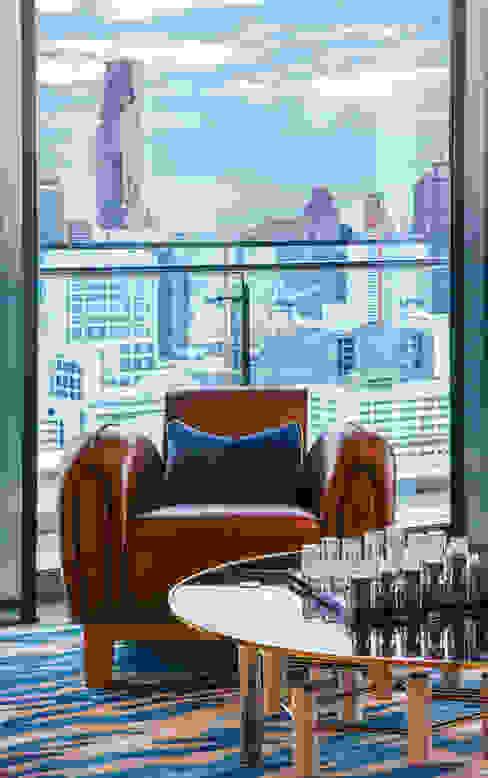 Modern Seating Area Design Intervention Living room