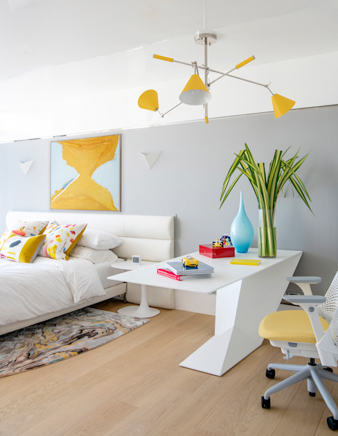 Colourful Bedroom Design Design Intervention Nursery/kid's room