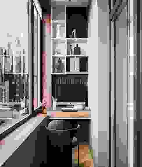 Apartamento Bruma Estudios y despachos de estilo minimalista de SRS Studio Minimalista