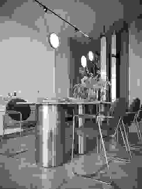 Project HD#345 HD-m2 Столовая комната в стиле модерн Мрамор