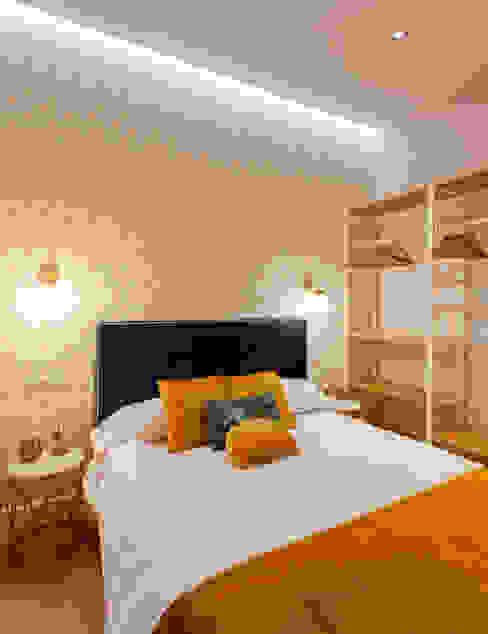 Dormitorio Dormitorios de estilo minimalista de WINK GROUP Minimalista Madera Acabado en madera