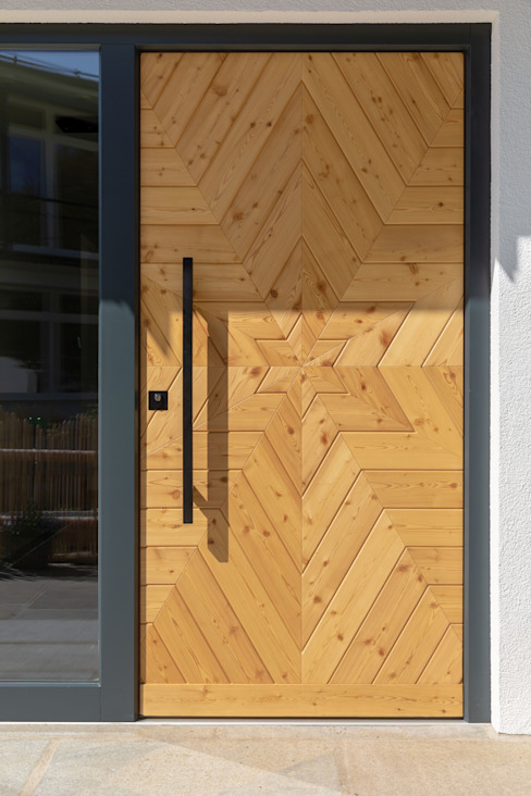 Regnauer Hausbau Country style doors Wood Brown