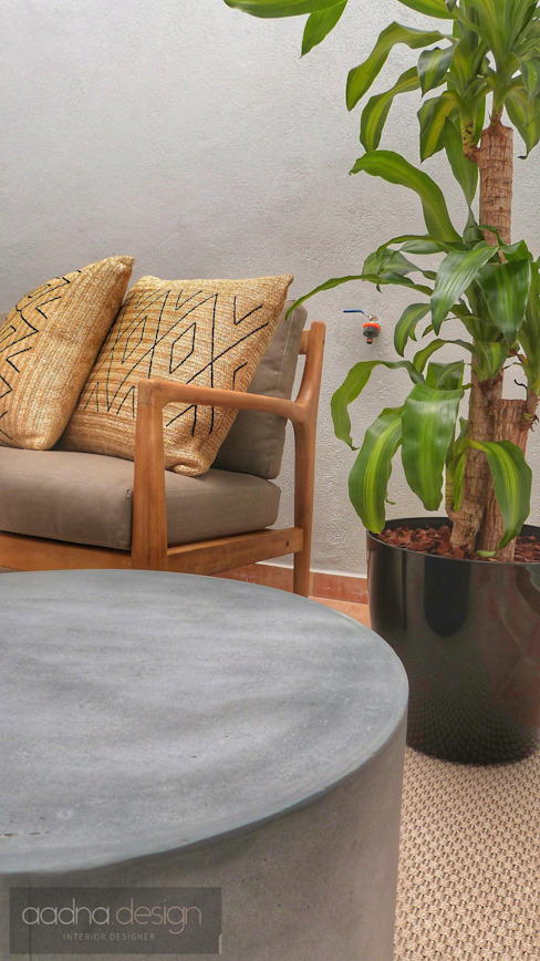 Terraço Varandas, marquises e terraços minimalistas por Aadna.Design Minimalista