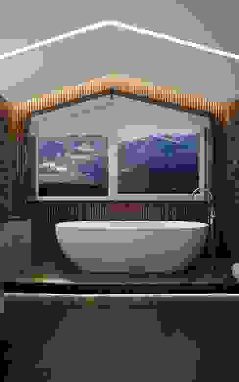 Санузел, коттедж Павловская слобода DoDesign Ванная комната в стиле модерн