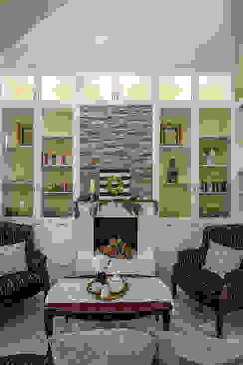 Provincial Providence @ Taman Bunga Raya DCS CREATIVES SDN. BHD. Living room Stone Beige
