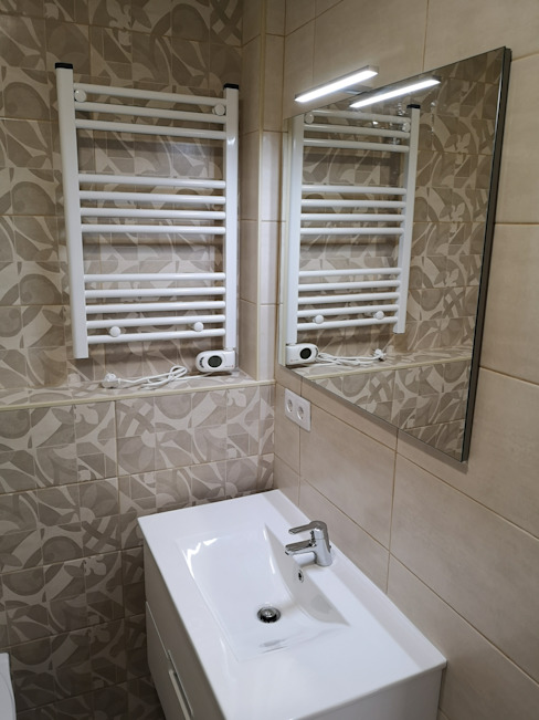 Casa de Banho Moderna por Congrau Engenharia