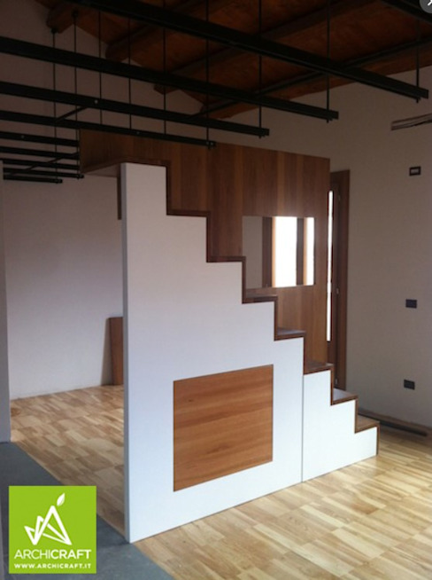 Archicraft Stairs Wood White