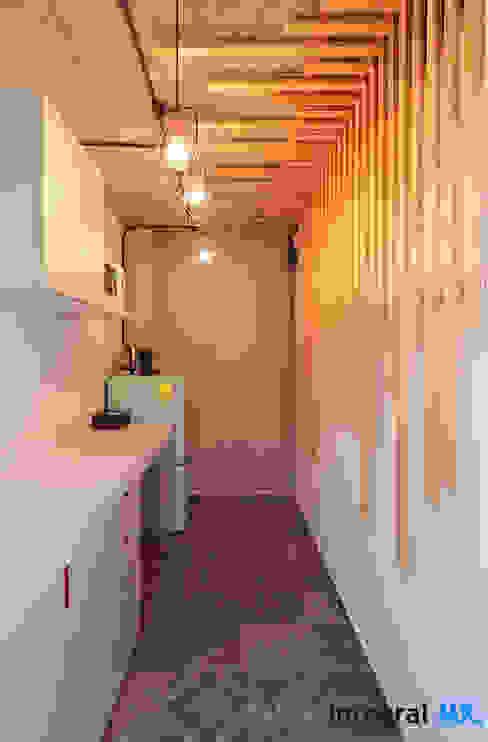 Taller Integral Mx Small kitchens Wood White