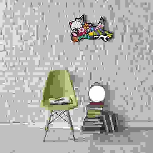 Art Panels Rombero Britto Pareti & Pavimenti in stile moderno di Creativando Srl - vendita on line oggetti design e complementi d'arredo Moderno