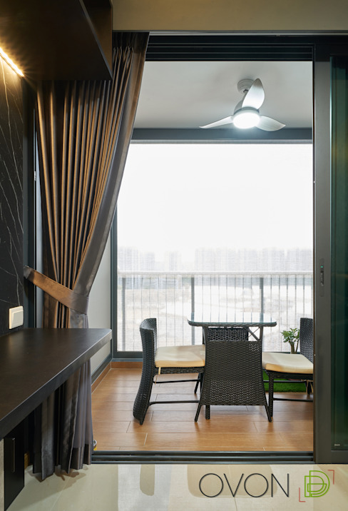 Kingsford Waterbay Ovon Design Balcony