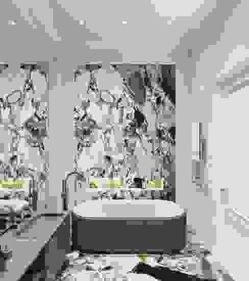 ЖК РЕНОМЭ Ванная в классическом стиле от o2designmoscow Классический