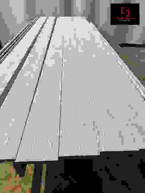 Travi in cartongesso effetto legno SD Soluzioni&Design Negozi & Locali commerciali moderni
