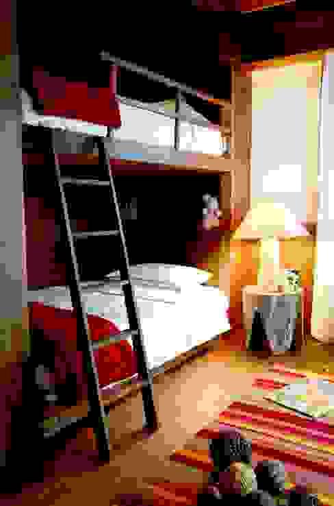 studio sgroi Rustic style bedroom