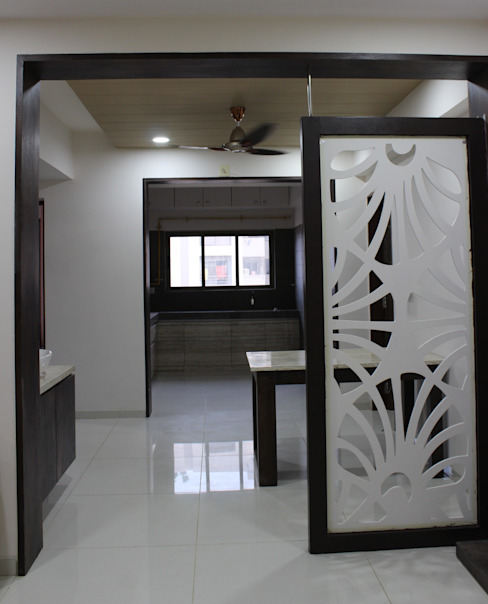 Designer Wall : minimalist  by Monoceros Interarch Solutions,Minimalist MDF