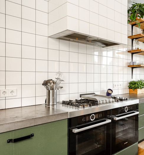 Boretti kookplaatmet plancha van ÈMCÉ interior architecture Modern